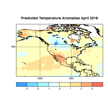 Prognose Temperatur April 2018 Amerika