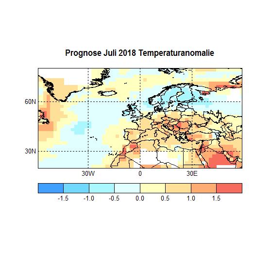 Prognose Juli 2018 Temperatur Atl+Eu Bild