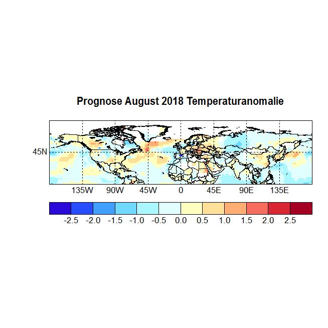 Prognose August 2018 Temperatur NH Bild neu