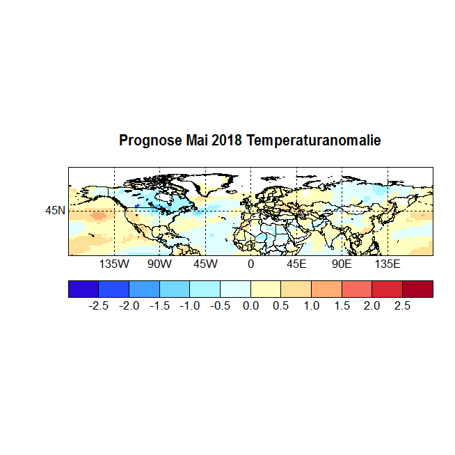 Prognose Mai 2018 Temperatur NH Bild
