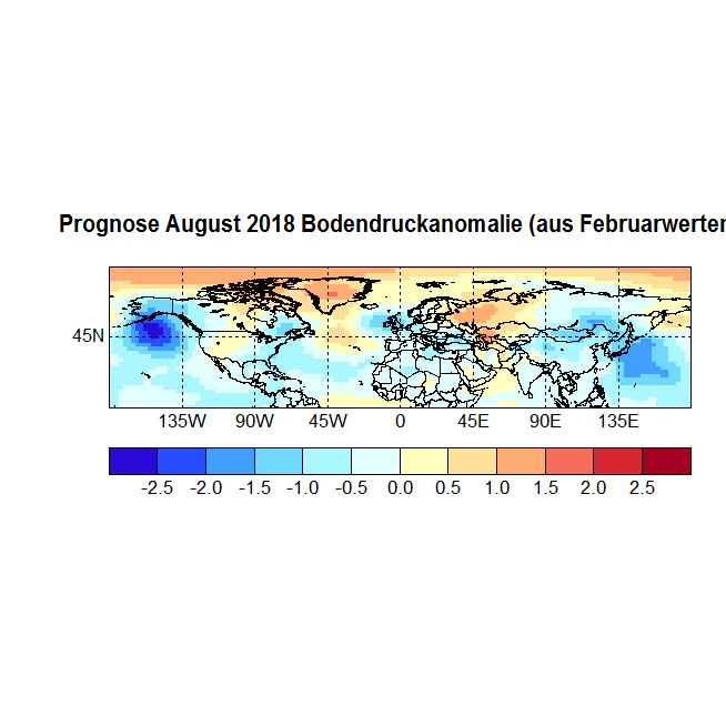 Prognose August 2018 Bodendruck NH aus Februar