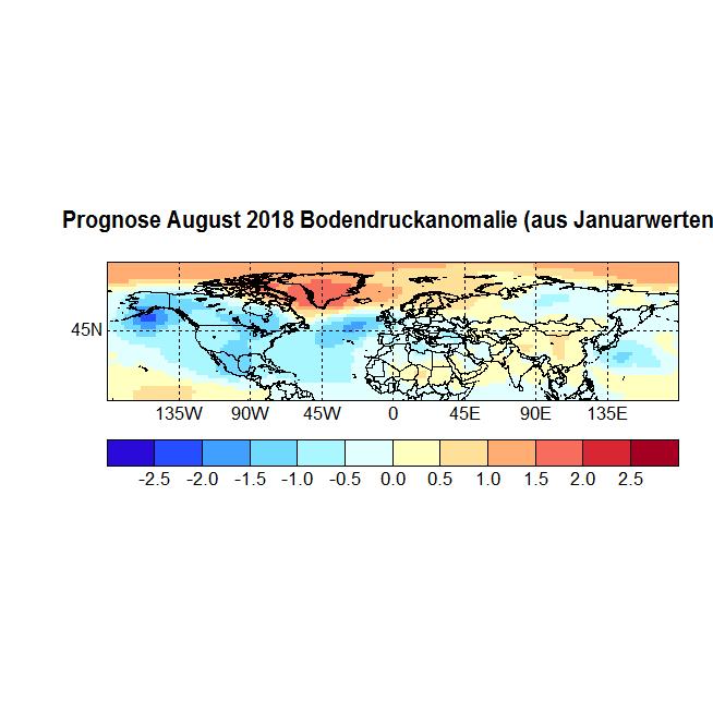 Prognose August 2018 Bodendruck NH aus Januar