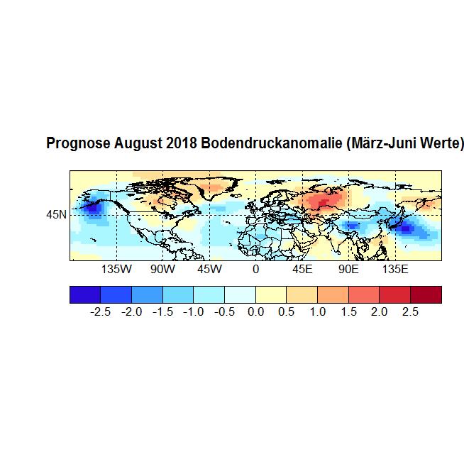 Prognose August 2018 Bodendruck NH Druck März-Juni