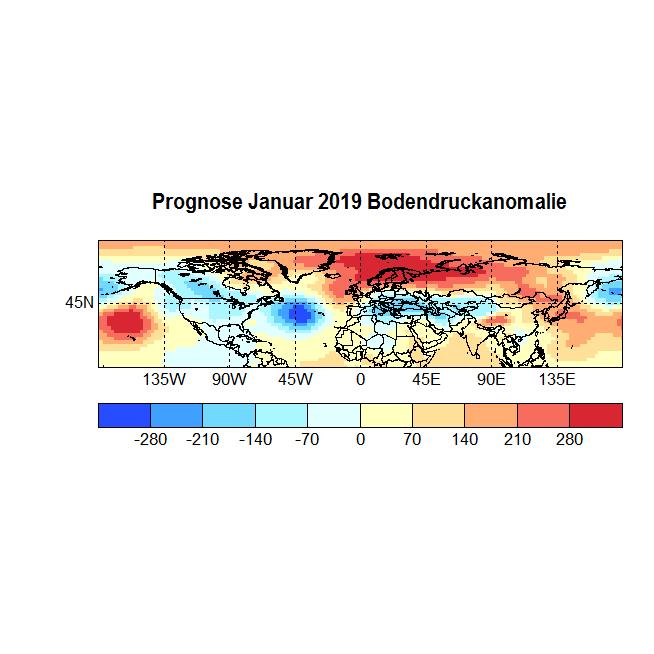Prognose Januar 2019 Bodendruck NH Bild aus Okt 705+706+707 neu