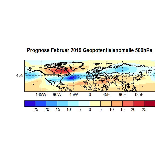 Prognose Februar 2019 Geopot 500
